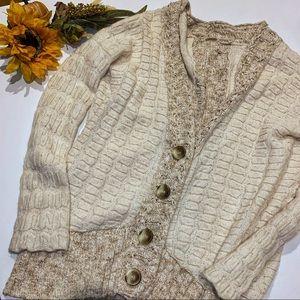 FREE PEOPLE > Knit Cardigan Sweater